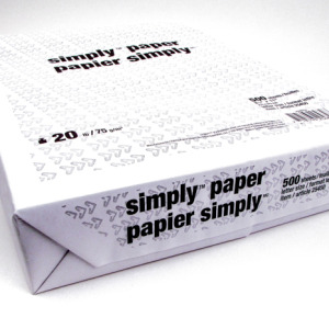 White Bond Drawing Paper
