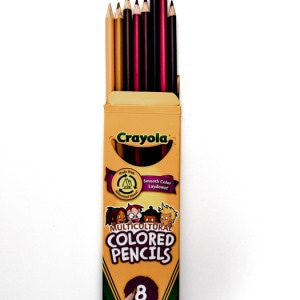Crayola Multicultural Pencil Crayons