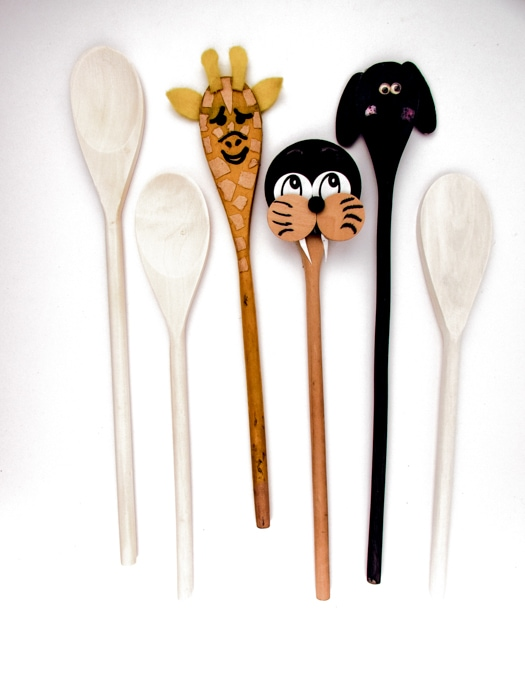 wooden spoon flower craft wooden mixing spoons j amp j crafts 5781