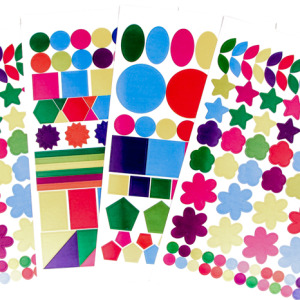 Assorted Sticker Shapes /720