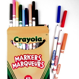 Crayola Washable Thin Tip Markers