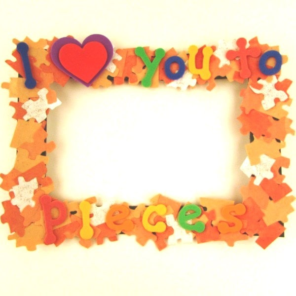 Love You To Pieces Frame Jj Crafts